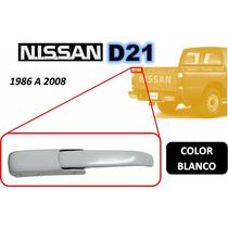 86-08 Nissan Camioneta Gancho Tapa Trasera Blanco Izquierdo