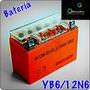 Bateria De Gel Yb6l-bs 12n6-bs Hong Sheng Garantia