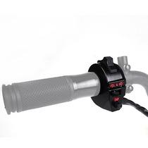 Switch Motocicleta Direccionales Claxon Luces Faros Led 7/8