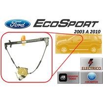 03-10 Ford Ecosport Elevador Electrico Con Motor Del. Izq.