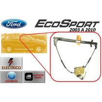 03-10 Ford Ecosport Elevador Electrico Con Motor Del. Der.