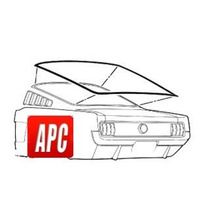 Mustang 1965 1966 Empaque De Hule Para Medallon Fast Back