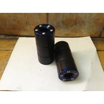 Frame Sliders (deslizadores) Universales Tapa Aluminio Moto