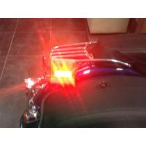 Harley Davidson Estrobos Para Motocicleta Prende Rojo Y Azul