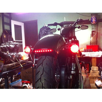 Calavera Stop Led Cafe Racer Humo Harley Sportser Iron 883