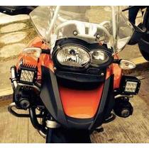 Faros Led Auxiliares Moto Bmw Honda Yamaha Suzuki Kawasaki