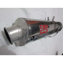 Escape Yoshimura Rs-3 Ovalado En Aluminio