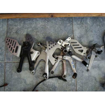 Posapies Posa Pie Bracket Pedal Base Palanca Motomaniaco
