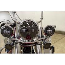 Harley Davidson Faros Auliares De Leds En Color Negro