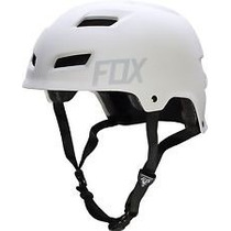 Casco Fox Transition Hardshell Blanco Mate Talla L Bici