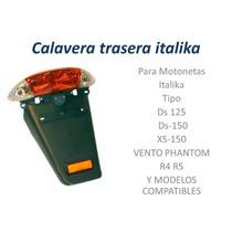 Calavera Trasera Con Salpicadera Para Ds150 Y Otros