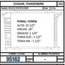 Radiador 95162 Cougar / Thunderbird 89-93 3,8 + Regalo