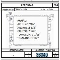 Radiador 36040 Aerostar 90-97 V6 4.0 + Regalo