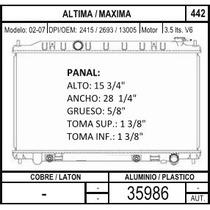 Radiador Nissan Maxima Aut 3.5l V6 2002 2003 2004 2005 2006