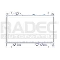 Radiador Dodge Neon 2000-2001 L4 2.0 Lts Automatico