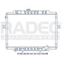 Radiador Dodge H-100 1999-2007 L4 2.5 Lts Estandar
