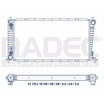 Radiador Ford F-150 97-99 V6/v8 4.2/4.6 Lts. Cuerda 1/2 Aut