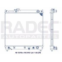 Radiador Chevrolet Tracker 93-98 1.6 Lts L4 Estandar