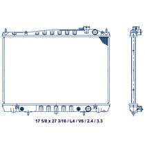 Radiador Nissan X-terra L4 V6 2.4/3.3l Aut 2004 98 00 04 Lj