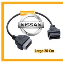 Cable Adaptador Nissan 16 A 14 Pines Obd2 Hm4 Tsuru Taxi