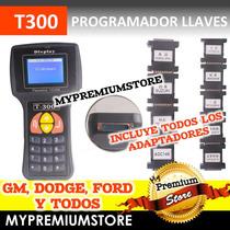 T300 Programador De Llaves Y Transponder Original Automotriz