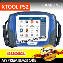 Escáner Xtool Ps2 Diagnostico Camiones Diesel Pantalla Color