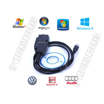 Escaner Vagcom Ver.12.12 Full Obd Ii,can Usb Windows 8
