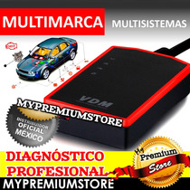 Escaner Diagnostico Automotriz Vdm Multimarca Multisistemas