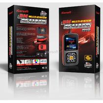 Icarsoft I910 Escaner Automotriz Multimarcas Covertura Bmw