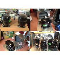 Compresor 1/6hp Toluca Refrigerador Gas 134a Danfoss Embraco