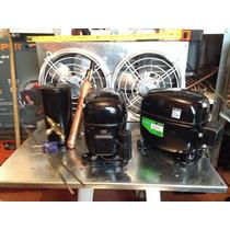 Compresor 1/2hp Toluca Vitrina Refrigerador Gas 134a Danfoss