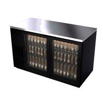 Asber Abbc-68g Refrigerador Contrabarra 2 Puertas Cristal
