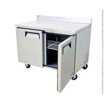 Mesa De Trabajo Refrigerada Sobrinox 12pies Mrt-122-2p
