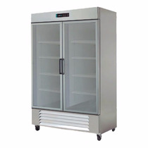 Asber Arr-37-2g-pe Refrigerador 2 Puertas Cristal 37 Pies3