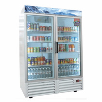 Asber Armd-49 Refrigerador 2 Puertas Cristal 49 Comercial