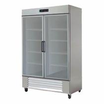 Asber Arr-49-2g-pe Refrigerador 2 Puertas Cristal 49 Pies3