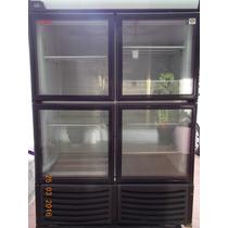 Refrigerador Vitrina Torrey De 4 Puertas.