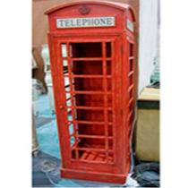 Vitrina Cabina Telefonica Londres Minimalista 1.80m