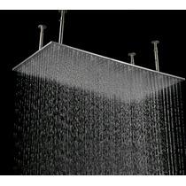 Regadera De Baño Niagara 50x100 Cm Tipo Lluvia Con Luz Led (