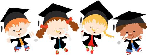 regalo graduación preescolar - kinder - jardín de niños
