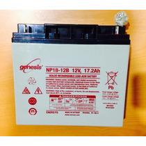Batería Recargable Genesis Np18-12b 12v 17.2ah Nueva