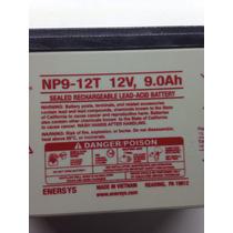 Batería Recargable 12v 9a Génesisgenesis