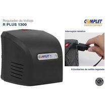 Regulador Voltaje Complet 1300va 650w 8 Contactos