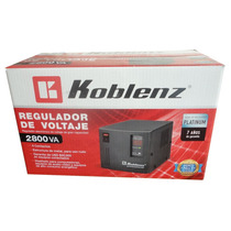 Regulador Koblenz 2800 Profecional,2800va/2000w,4 Cont;7 Año