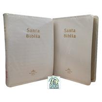 Biblia Chica Imitación Piel Blanca Reina Valera 1960 Boda