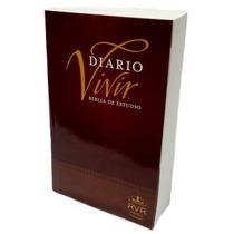Biblia De Estudio Del Diario Vivir Rustica Reina Valera 60