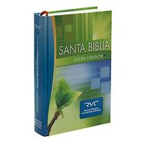 Biblia Letra Grande Reina Valera Contemporanea Tapa Dura Rvc