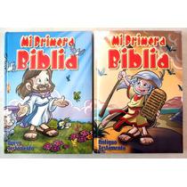 Mi Primera Biblia En 2 Tomos Antiguo Y Nuevo Testamentos
