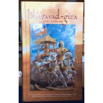 Bhagavad-gita Tal Como Es. Libro Sagrado India. Mantras