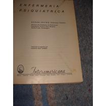 Libro Enfermeria Psiquiatrica, Susan Irving, Año 1975